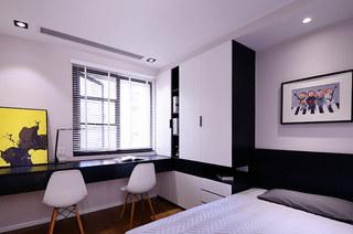 115平简约三居客卧装修效果图