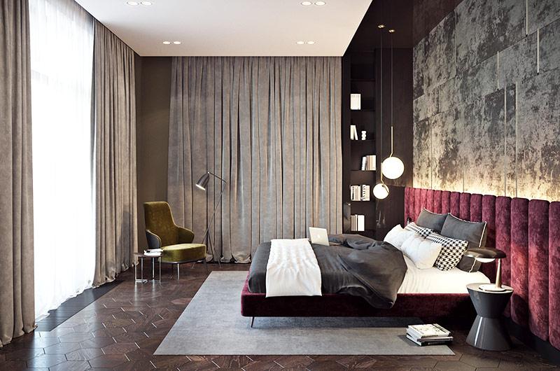 简约风格公寓装修卧室效果图装修