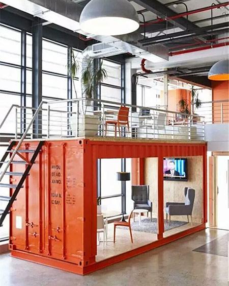 办公室装修loft效果图