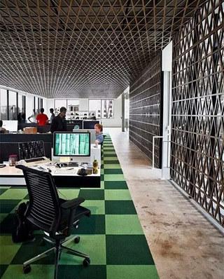 办公室内装饰设计效果图