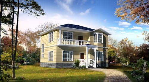 三层别墅效果图  三层别墅设计