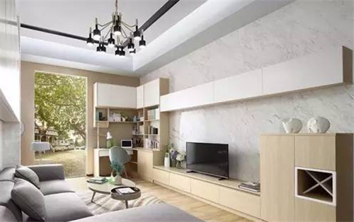 小面积客厅装修效果图 实用美观两不误