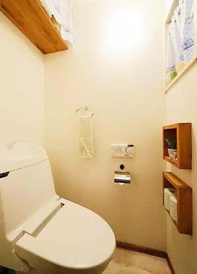小户型卫生间设计参考图