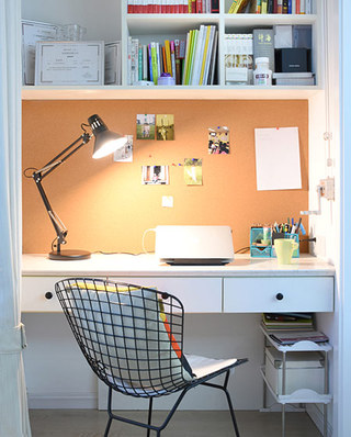 120平北欧三居室壁橱书房设计