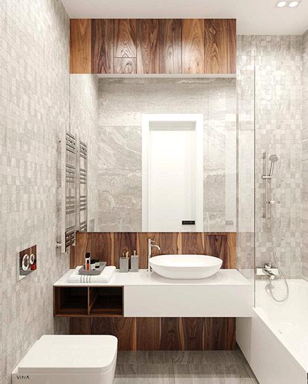 单身公寓装修主卫生间装修