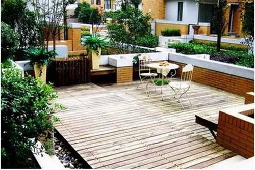 樓頂露臺裝修效果圖 花園