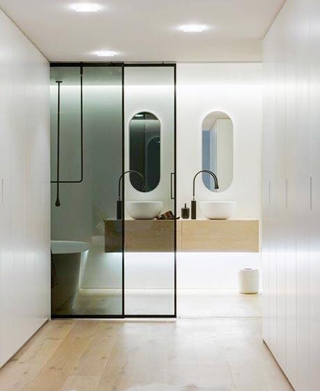 浴室移门设计实景图
