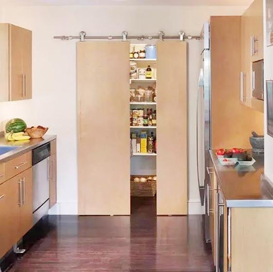 厨房推拉门装饰效果图