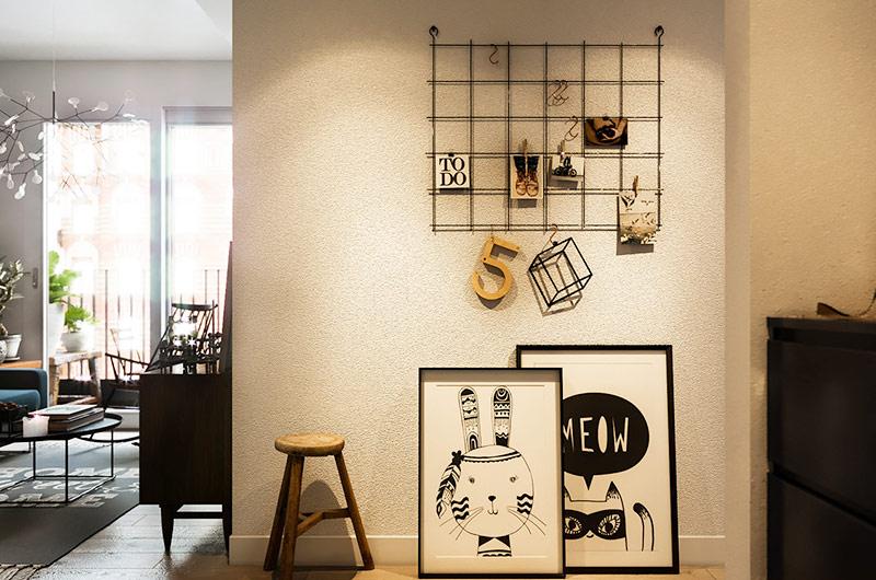 60平小公寓装修玄关设计图