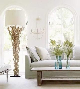 客厅木质改造灯平面图