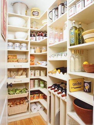 厨房收纳柜设计欣赏图
