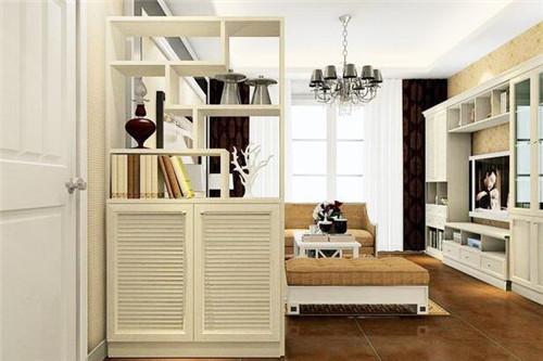 客厅屏风装修效果图 你的客厅还差一面高雅的屏风