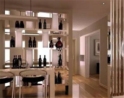 室内装修酒柜效果图 室内酒柜设计享受品质生活