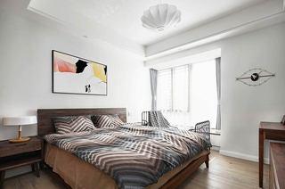 150平新中式装修主卧室装修