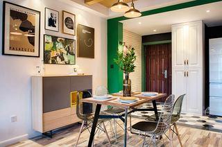70平北欧风格二居餐厅效果图装修
