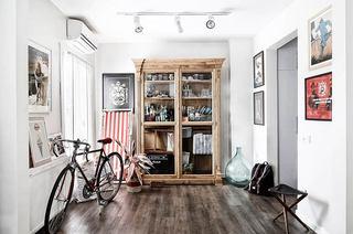 41平小户型公寓木地板图片