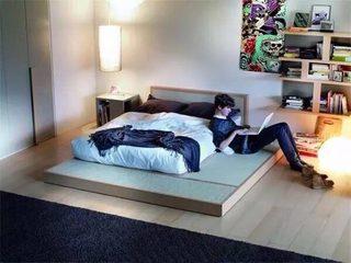 卧室地台榻榻米设计图