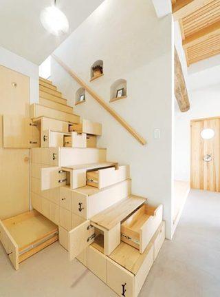 到底能装多少呢  10个楼梯间收纳设计图片5/10