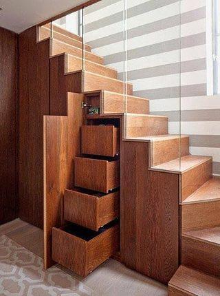 到底能装多少呢  10个楼梯间收纳设计图片7/10