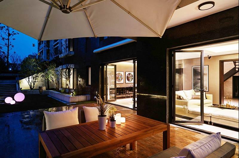 混搭风格别墅花园洋房露台设计