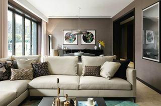 混搭风格别墅装修客厅设计图