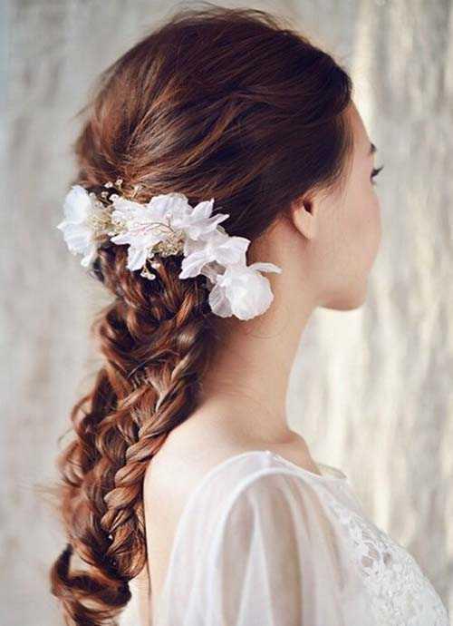 影楼新娘发型图片 婚礼新娘妆的发型设计技巧