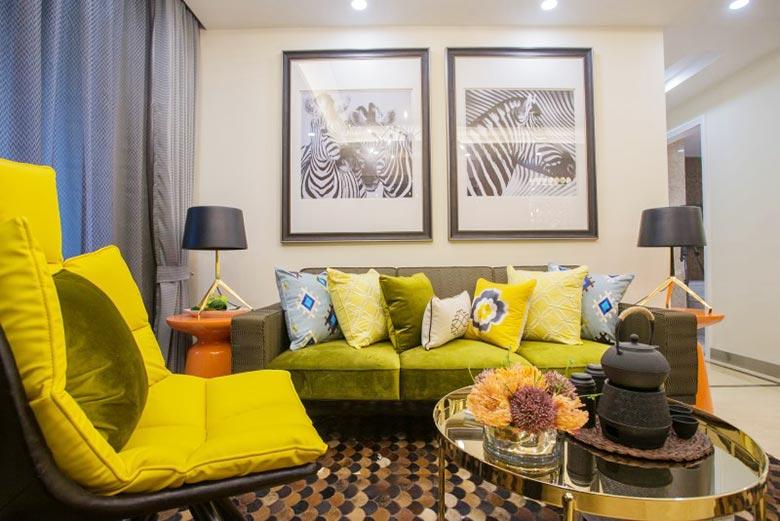 现代简约风格客厅沙发图片