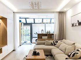 110平日式风格三房装修效果图 温馨淡雅