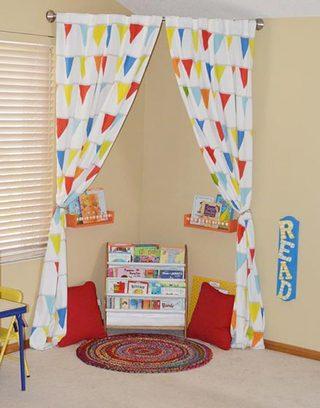 儿童房小书房设计图