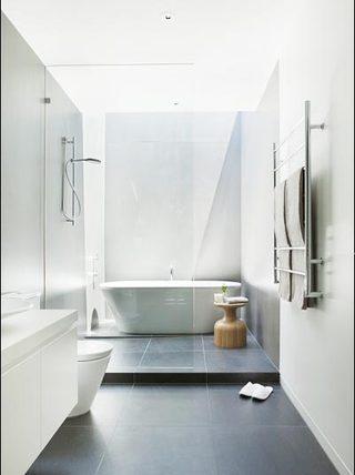 简约浴室欣赏图