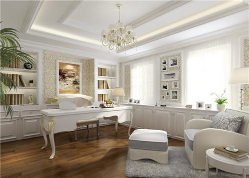 书房装修效果图 小户型简约书房设计案例