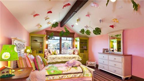 阁楼儿童房装修效果图 阁楼儿童房原来可以这么美