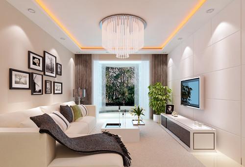 现代客厅装修效果图 2017现代客厅装修设计