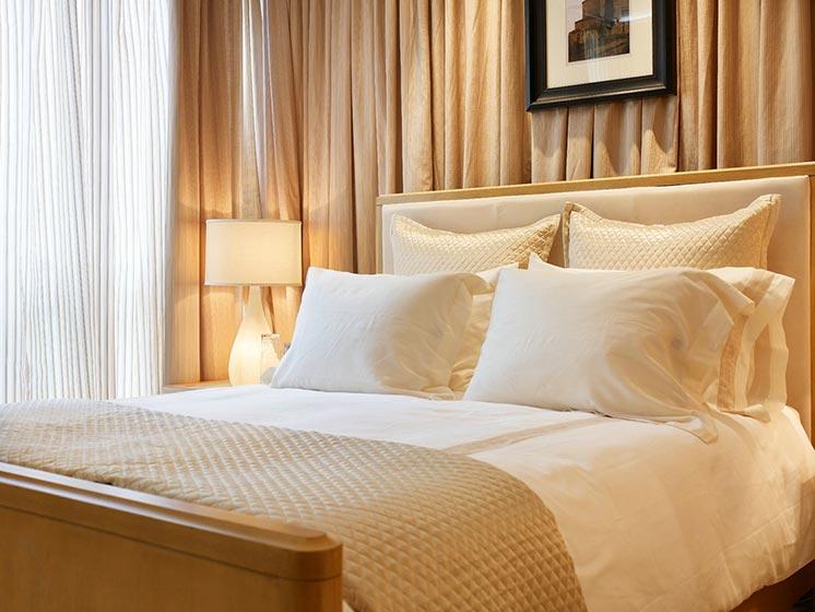 卧室床头背景设计平面图