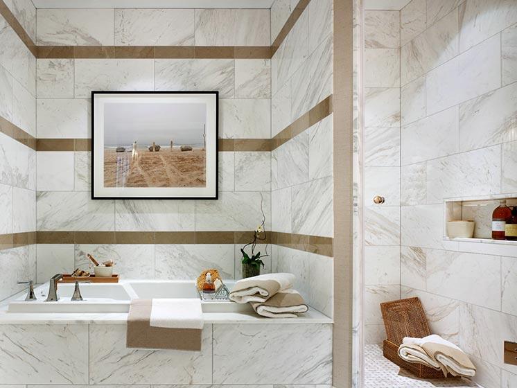 浴室装修装饰效果图