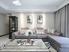 140平简约风格三居室装修 浓妆淡抹总相宜