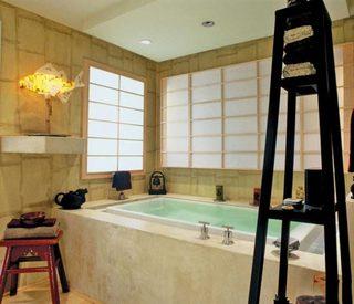 小清新浴室收纳图片