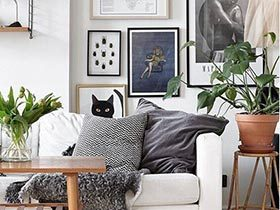 别人家的客厅  10个北欧客厅设计实景图
