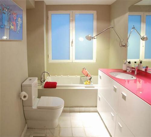 浴室装修效果图 每天的好心情从美丽浴室开始