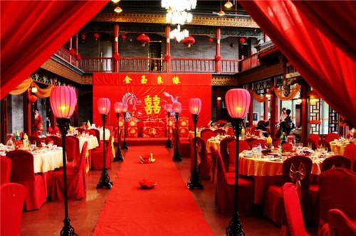 中式婚礼需要多少钱 中式婚礼传统习俗图片