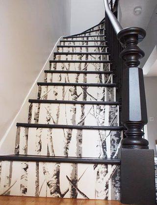 楼体壁纸装修装饰效果图