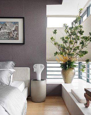 现代风格过卧室飘窗图