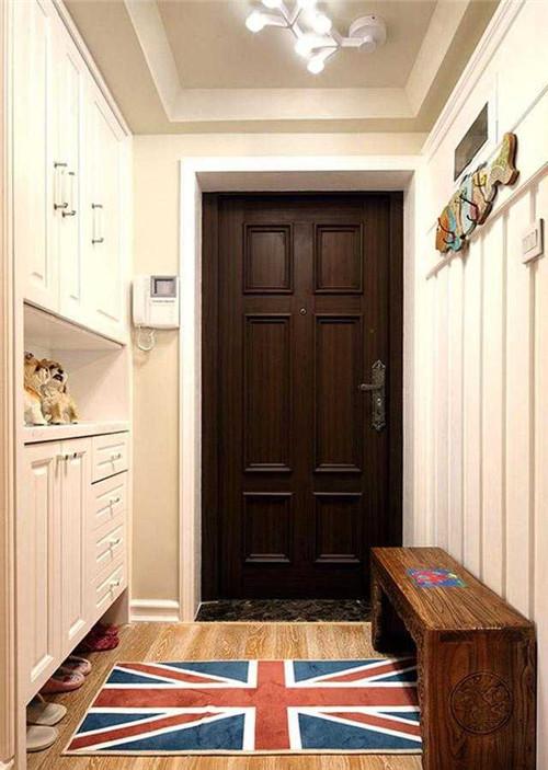 客厅玄关鞋柜效果图 爸爸妈妈也会喜欢的玄关鞋柜