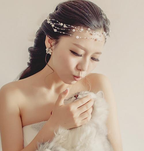 新娘长发发型图片 长发新娘发型详细步骤