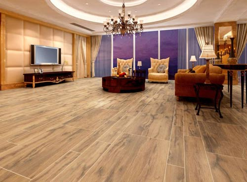 仿木地板瓷砖怎么样 瓷砖要怎么好图片