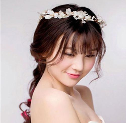 韩式发型新娘图片图解2017最美短发女生发型步骤新娘二次元图片