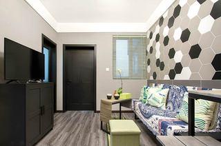 40平小户型loft装修客厅沙发图片