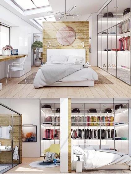 卧室衣帽间设计欣赏图