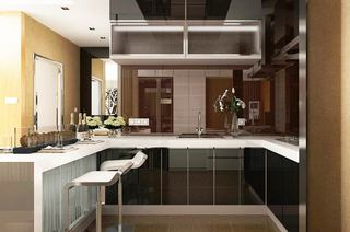 75平简约二居装修厨房装修图片