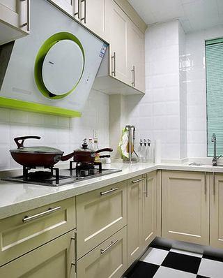 北欧风格小三室装修厨房装修图
